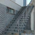 Отделка лестниц на металлокаркасе