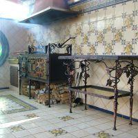 Кованые мангал и стол - Ручная ковка