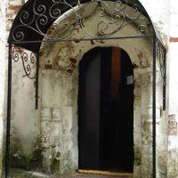 Кованый козырек, реставрация в Храм